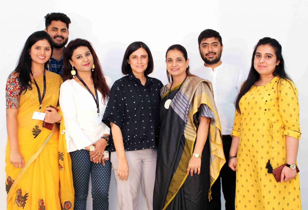 Jd Institute Of Fashion Technology Organizes Master Jury With Rina Dhaka Curriculum Magazine